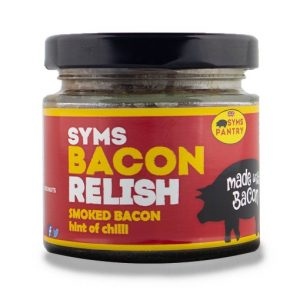 syms pantry, bacon relish, smoked bacon relish