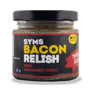 Syms Pantry, Habanero Chilli Bacon Relish